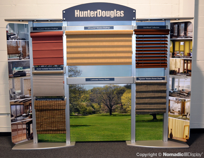 nomadic display client hunter douglas