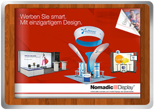 Messestand Frankfurt – Nomadic Display Messebau