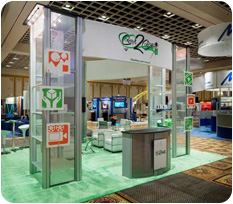 Concept 2 Consumer Trade Show Booth
