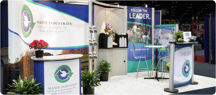 Portable Exhibition Display : Portable trade show displays custom exhibits