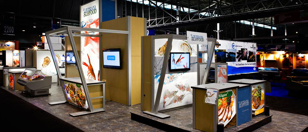 Backlit Trade Show Booth