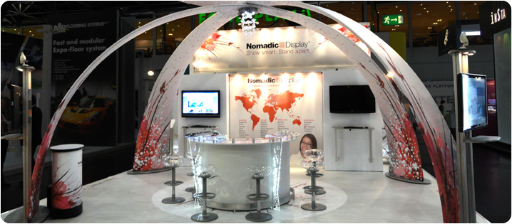 Nomadic Display Usa The Leading Provider Of Trade Show Displays Exhibits