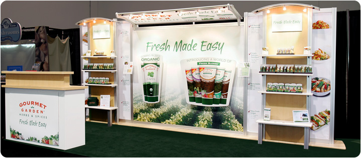 Exhibition Stand Options : Trade show display & exhibit accessories