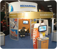 Richardson Pioneer Trade Show Display & Exhibit Accessories