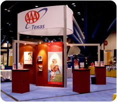 AAA Trade Show Display and Kiosks