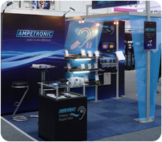 Ampetronic Custom Portable Exhibit